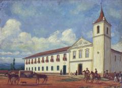 Largo e Mosteiro de São Bento, 1830