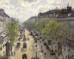 Le Boulevard de Montmartre, Matinée de Printemps