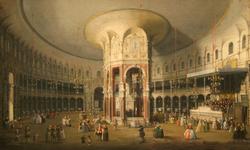 London: Interior of the Rotunda at Ranelagh