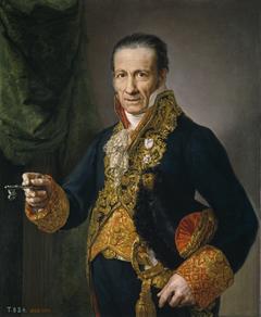 Luis Veldrof aposentador mayor y conserje del Real Palacio