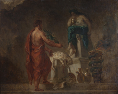 Lycurgus Consulting the Pythia