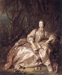 Madame de Pompadour (1721-1764), Mistress of Louis XV