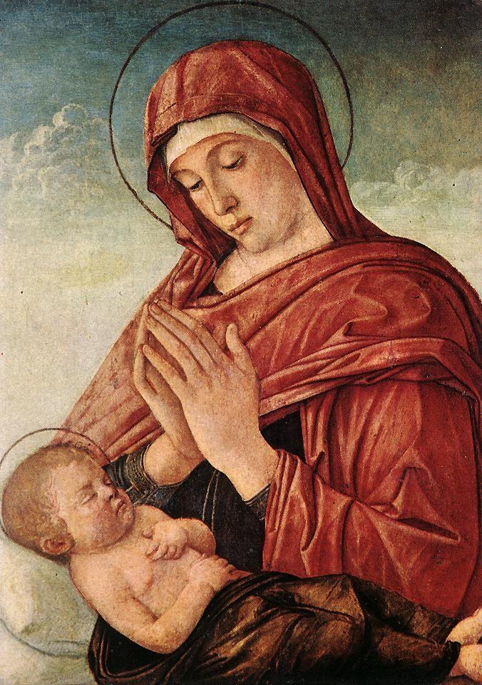 Madonna Adoring the Sleeping Christ Child