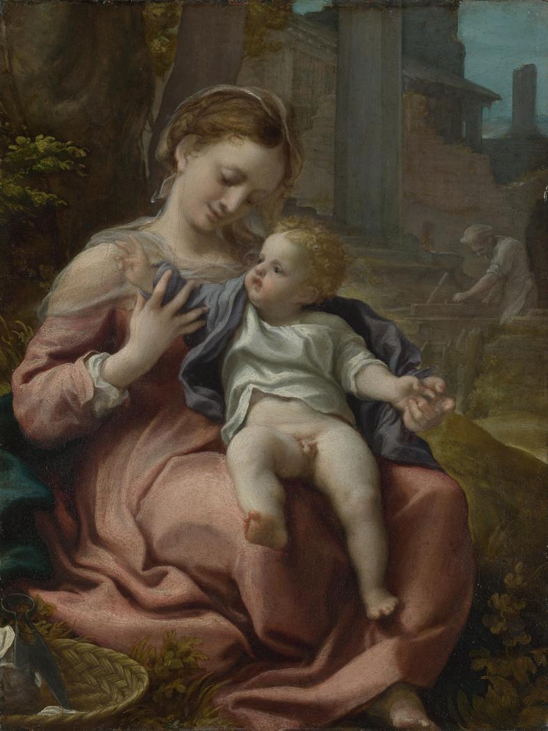 Madonna of the Basket