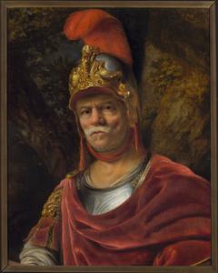 Man in a golden helmet (Mars)
