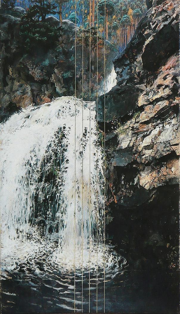 Mäntykoski Waterfall (Les Rapides de Mäntykoski)