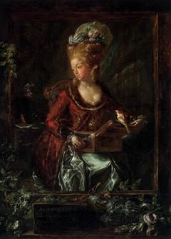 María de las Nieves Micaela Fourdinier, the Painter's Wife