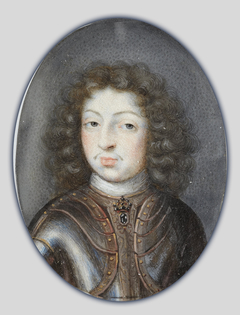 Miniature portrait of Charles XI, King of Sweden 1660-1697