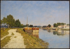 Morning on the Loing at Moret
