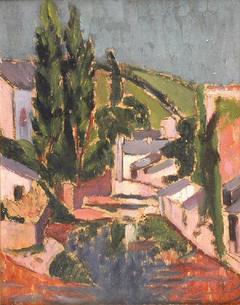 Moulins à Pont-Aven (Le Poche-Menu) et Chaumières en Cornouaille (au verso)