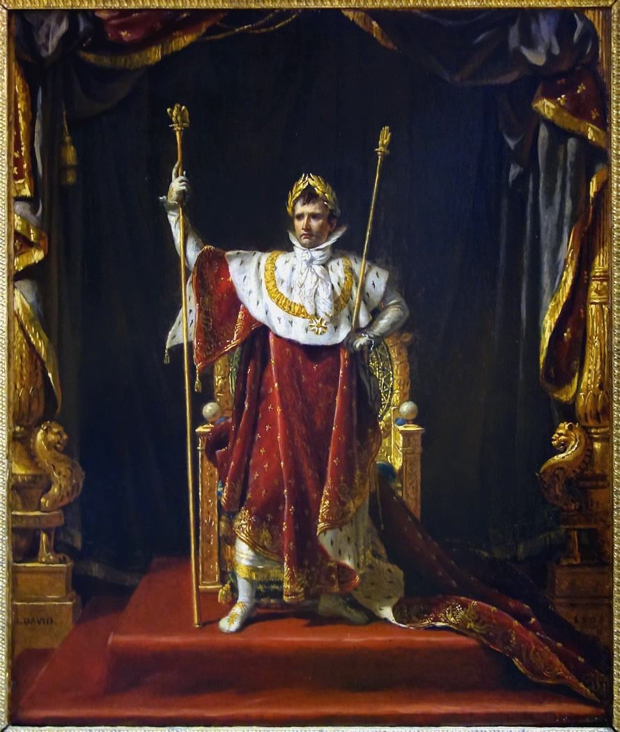 Napoleon in Imperial Costume