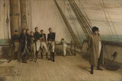 Napoleon on Board the Bellerophon