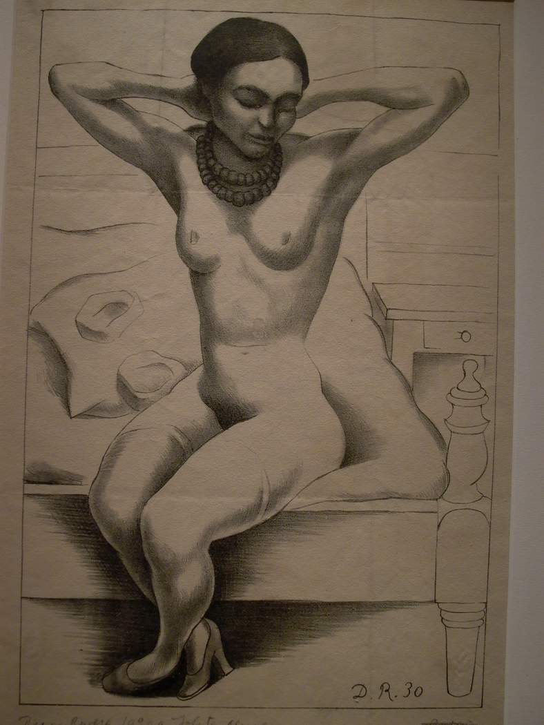 Nude of Frida Kahlo