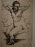 Nude of Frida Kahlo