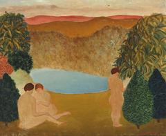 Nudes in Landscape