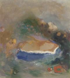 Ophélie, la cape bleue sur les eaux