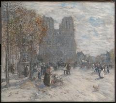 Place du Parvis, Notre Dame, Paris