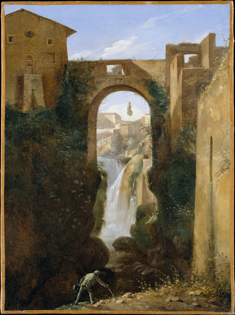Ponte San Rocco and Waterfalls, Tivoli