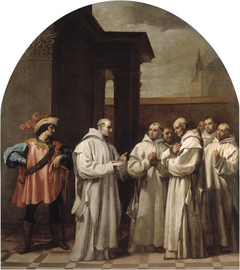 Pope Urban II Calls Saint Bruno to Rome