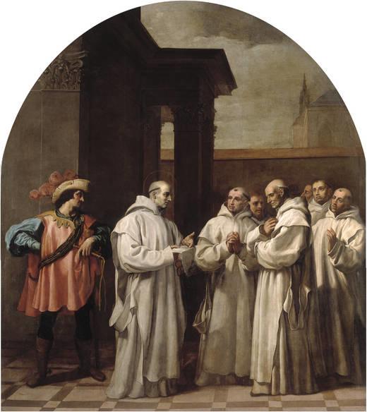 Pope Urban II Calls Saint Bruno to Rome