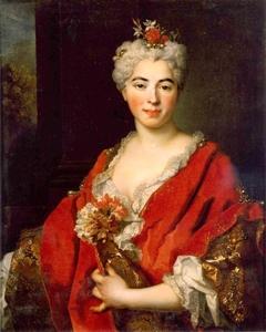 Portrait de Marguerite Elisabeth de Largillierre, fille de l'artiste