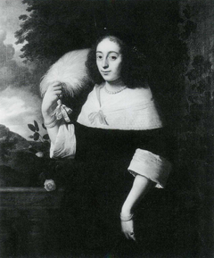Portrait of a Lady with a Feather
