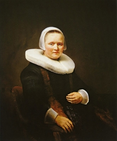 Portrait of a Woman, possibly Anna Wijmer