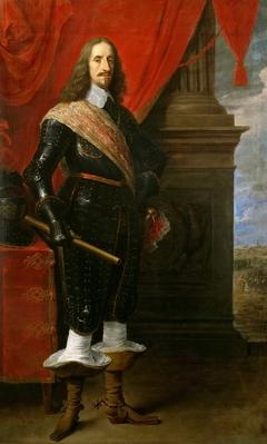 Portrait of Archduke Leopold Wilhelm in Armour