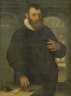 Portrait of Bartholomeus van der Wiere (1534-1603)