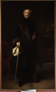 Portrait of colonel Konstanty Fiszer