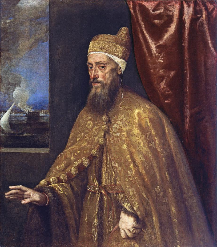 Portrait of Doge Francesco Venier