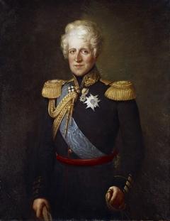 Portrait of Ferdinand Carl Maria Wedel Jarlsberg
