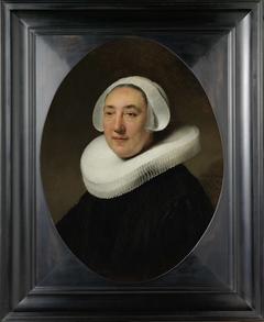 Portrait of Haesje Jacobsdr van Cleyburg