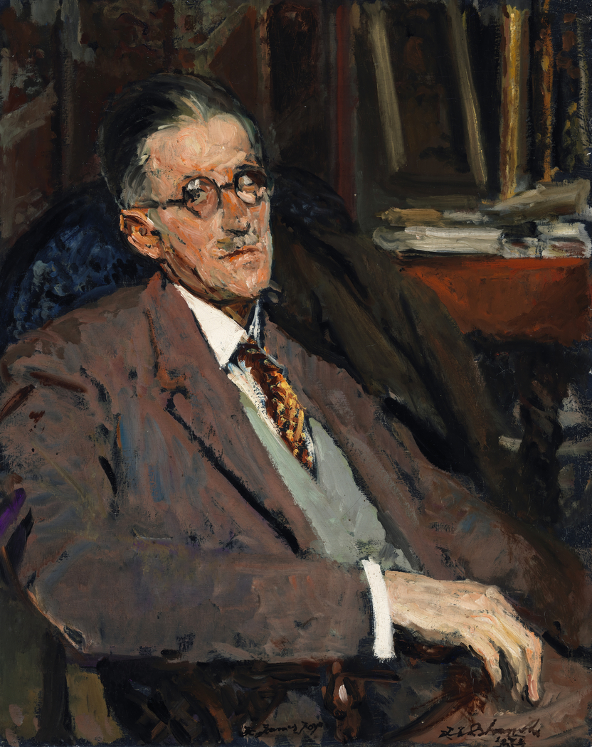 Portrait of James Joyce (1882-1941), Author