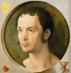 portrait of Johann Kleeberger