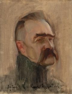 Portrait of Józef Piłsudski