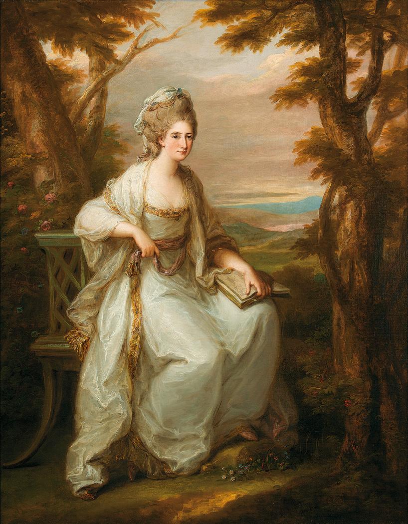 Portrait of Lady Clan Henderson