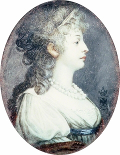 Portrait of Lady in a Pale Green Dress