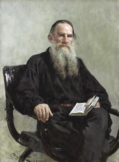 Portrait of Lev Tolstoy