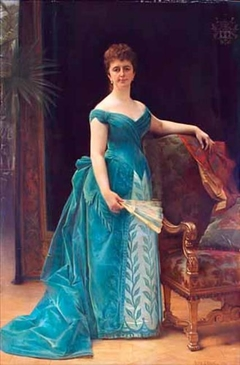 Portrait of Louise Cathérine Antoinette Borski