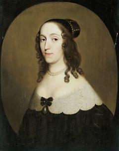Portrait of Louise Christina, Countess of Solms-Braunfels, 2nd Wife of Johan Wolfert van Brederode