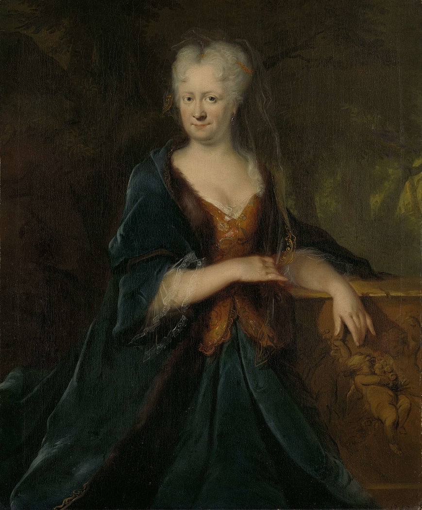 Portrait of Louise Christina Trip, Wife of Gerrit Sichterman