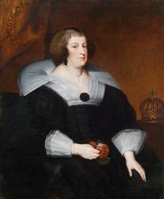 Portrait of Marie de' Medici of France, Queen-mother (1575-1642)