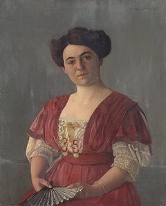Portrait of Mme Haasen