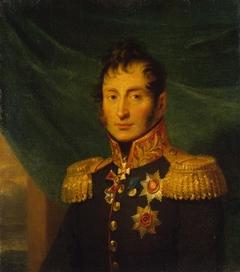 Portrait of Nikolai A. Tuchkov (1765-1812) (1st)