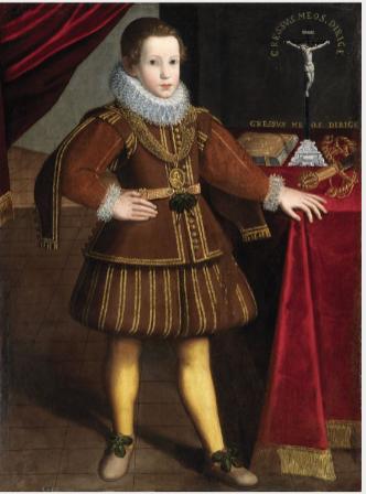 Portrait of San Luigi Gonzaga