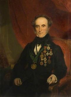 Portrait Of Sir Edward Thomason ( 1769-1849 )