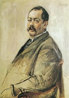 Portrait of the Painter Lovis Corinth