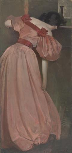 Portrait Study in Pink