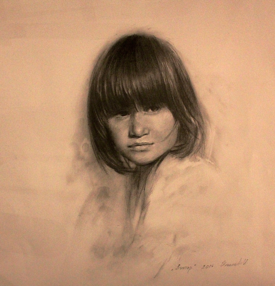 """Portrait -""""Viktor"""""""